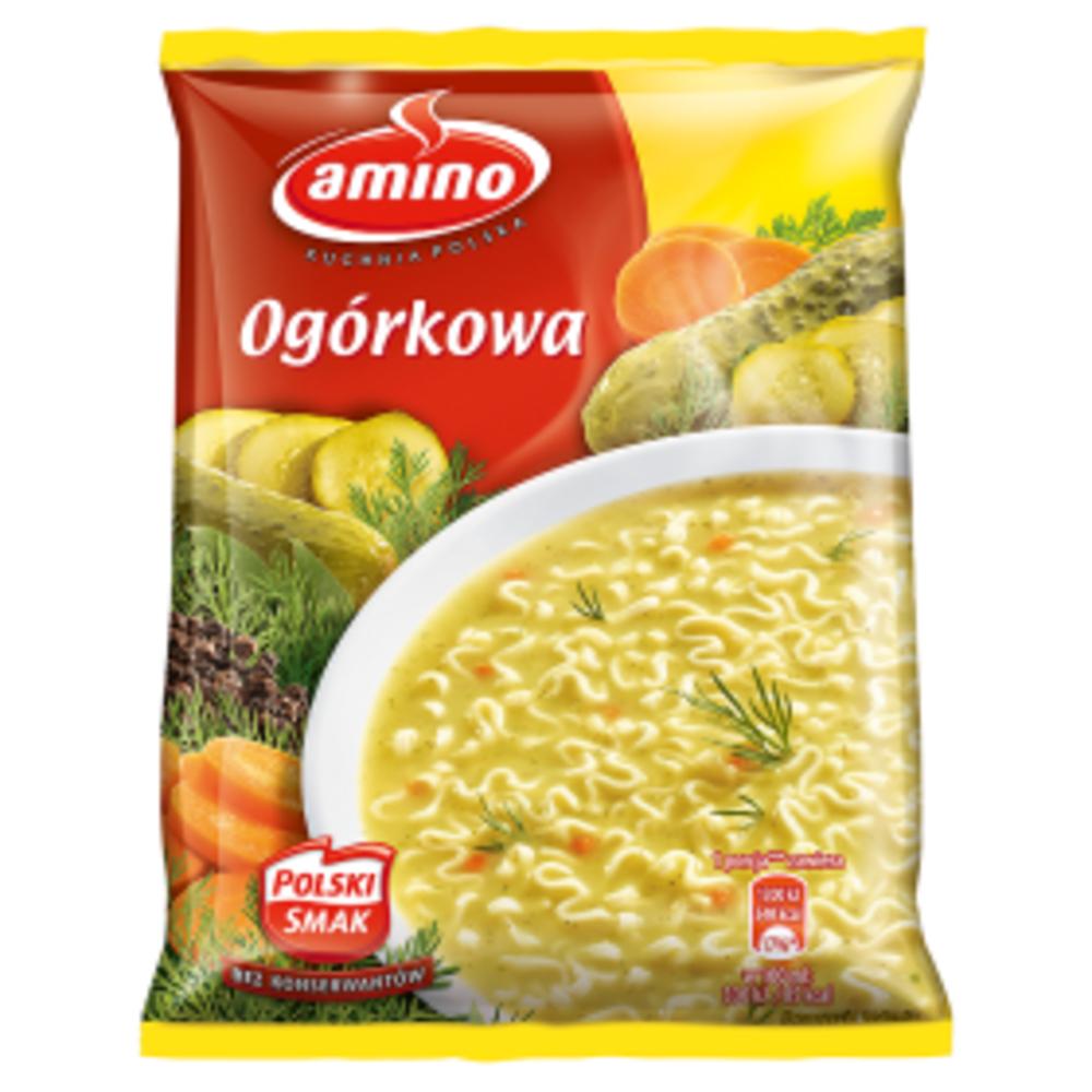 Amino Instant Ogorkowa 64g Delikatesy Echt Pol