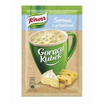 Knorr Goracy Kubek Serowa Z Grzankami 21g Delikatesy Echt Pol
