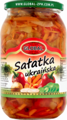Global salatka ukrainska 840g